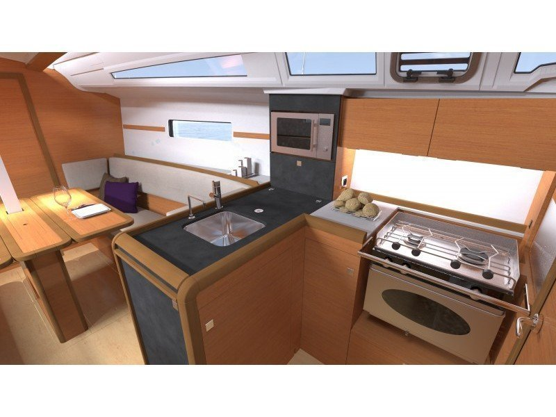 Sun Odyssey 349 (GRAPE) Interior image - 10