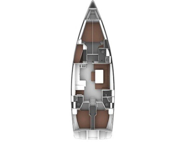 Bavaria Cruiser 51 (B51-3) Plan image - 1