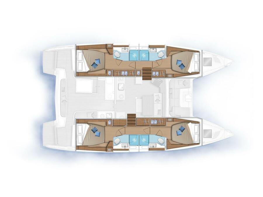 Lagoon 46(12 PAX) (KeYMA) Plan image - 2