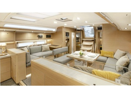 Dufour 530 - owner's version- skippered (Dimpa) Interior image - 2
