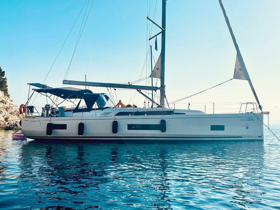 Oceanis 46.1 - 5 cabin version (FriendSEAp) Main image - 0