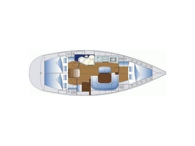 Bavaria 38 (Freedom - Bavaria 38 Cruiser) Plan image - 17