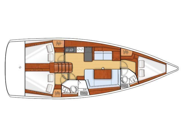 Oceanis 41 (Mediterranea) Plan image - 8