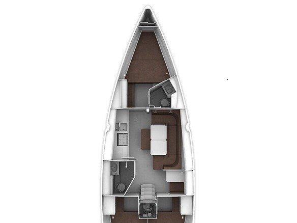 Bavaria 41 Cruiser (BAVARIA 41 CRUISER ) Plan image - 3