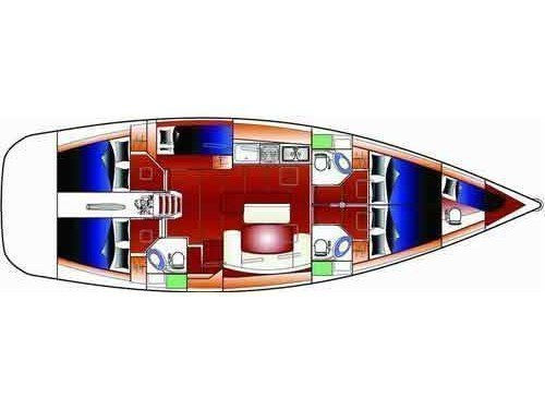 Cyclades 50.5 (CYCLADES 50.5 ) Plan image - 6