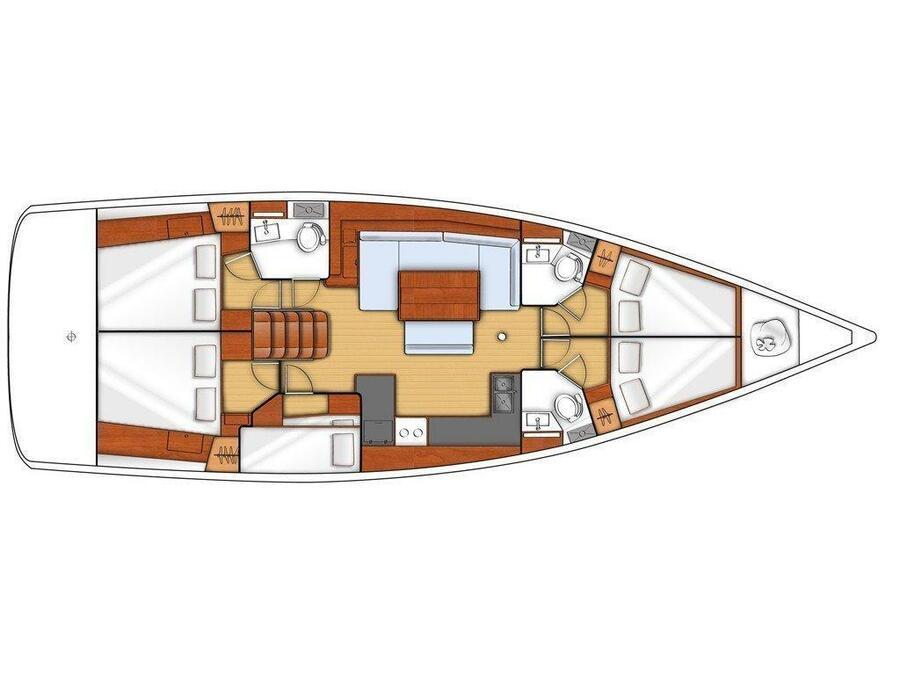 Oceanis 48_2015 (OCEANIS 48 ) Plan image - 20