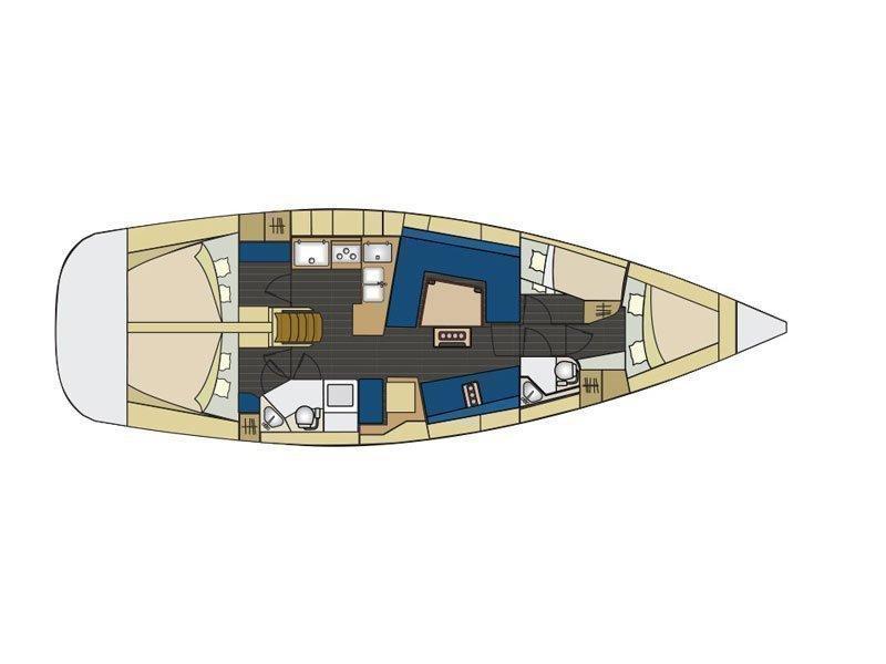 Elan Impression 444 (Marijana 48) Plan image - 1
