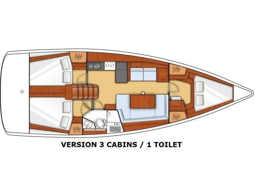 Beneteau Oceanis 41 (EYS) Plan image - 8