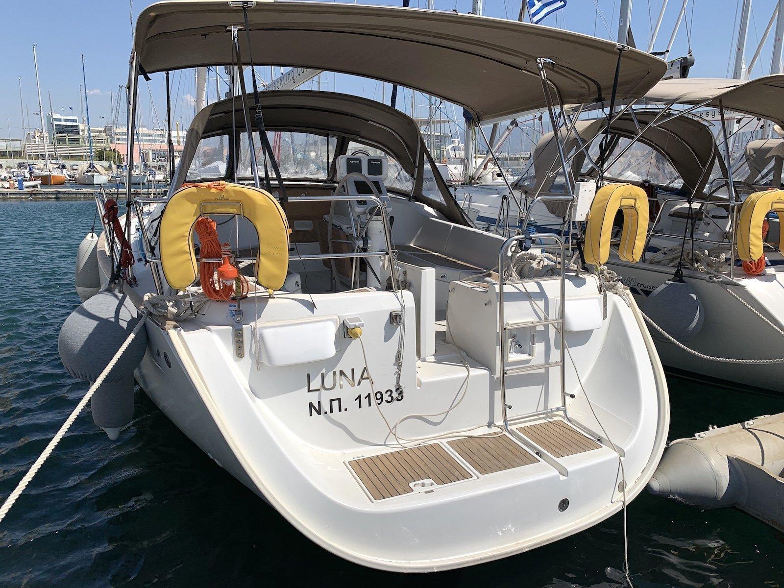 Oceanis 423 (Luna)  - 15