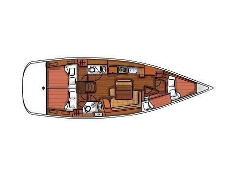 Oceanis 43 (Playmaker) Plan image - 16