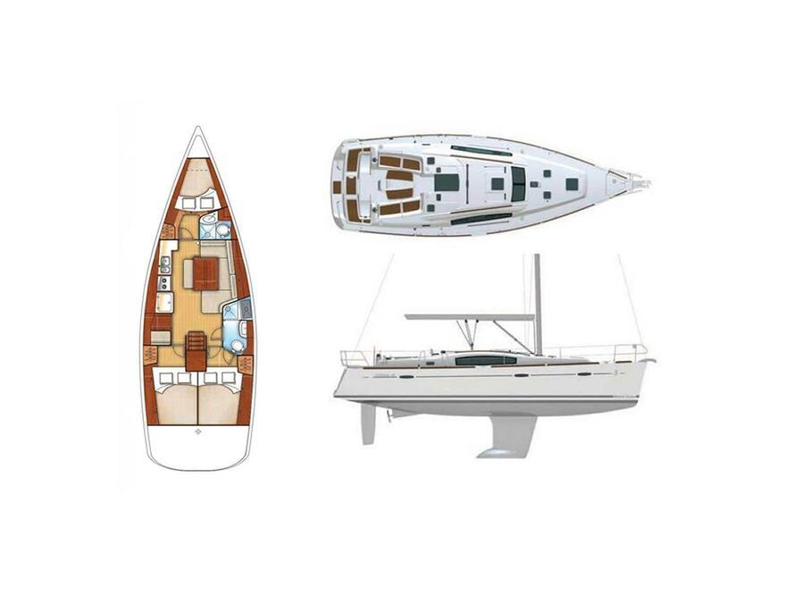 Oceanis 40 (Liberty) Plan image - 17