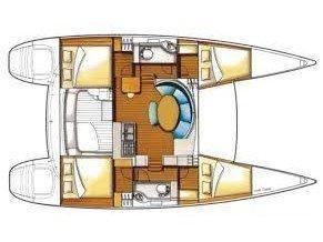 Lagoon 380 PREMIUM (Oscar II) Plan image - 1