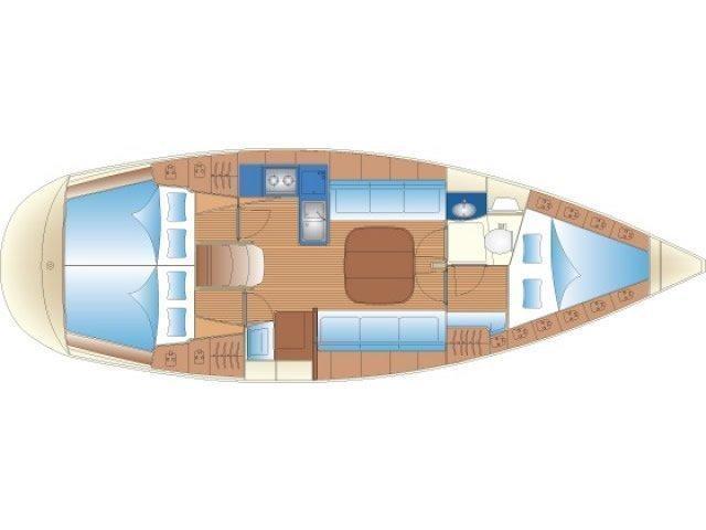 Bavaria 36 (ANFILANA) Plan image - 2
