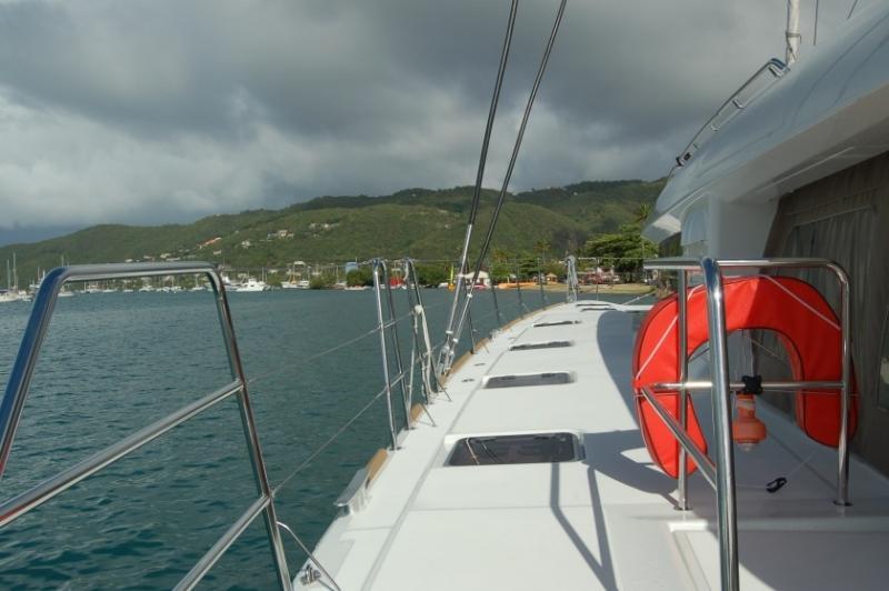 Lagoon 620 - incl. crew & full board (Marlena) Deck / windows / portside - 20