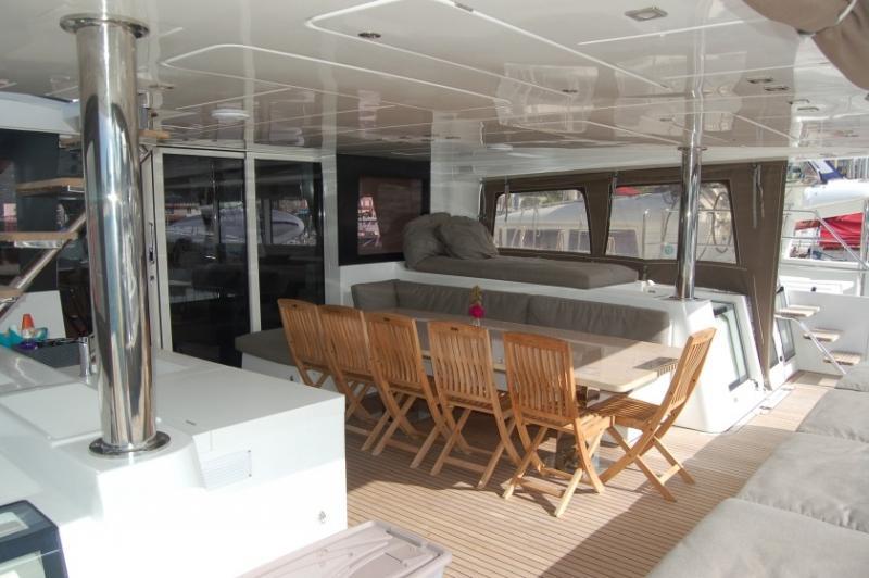 Lagoon 620 - incl. crew & full board (Marlena) Lounge - 11
