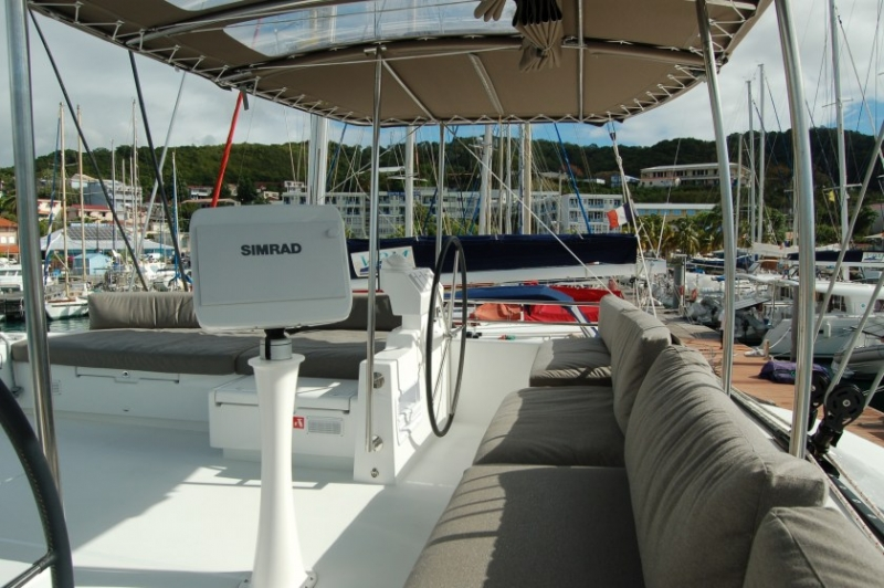 Lagoon 620 - incl. crew & full board (Marlena) Deck - 18