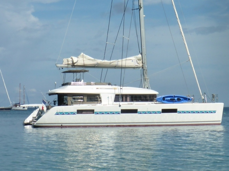 Lagoon 620 - incl. crew & full board (Marlena) Ship / few / starbord - 16