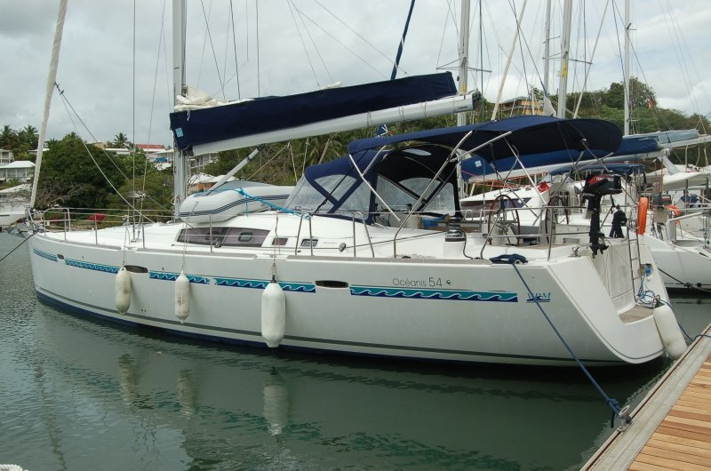 Oceanis 54 (Selene) ship / outside / portside - 7