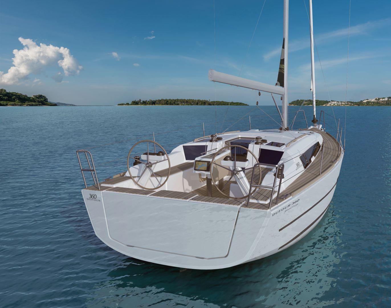 Dufour 360 GL (Nautilus) At anchor - 12