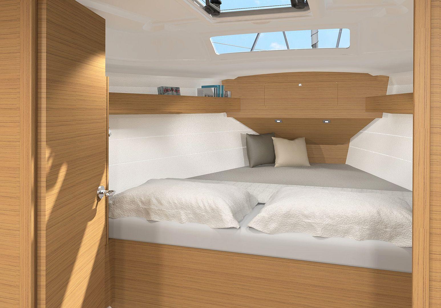 Dufour 360 GL (Nautilus) Cabin - 20