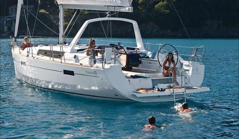 Oceanis 45 (2018) (Hande) At Anchor - 39