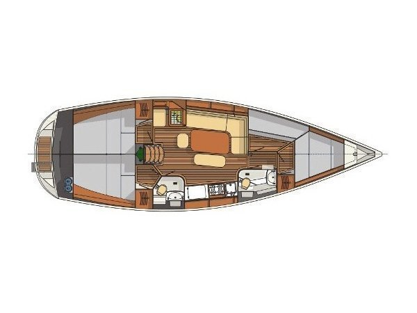 Delphia 40 (Foxbat) Plan image - 1