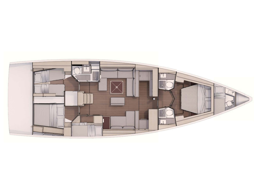 Dufour 530 (Gringott) Plan image - 2