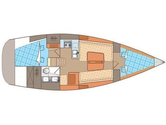 Elan 340 (M&M) Plan image - 3