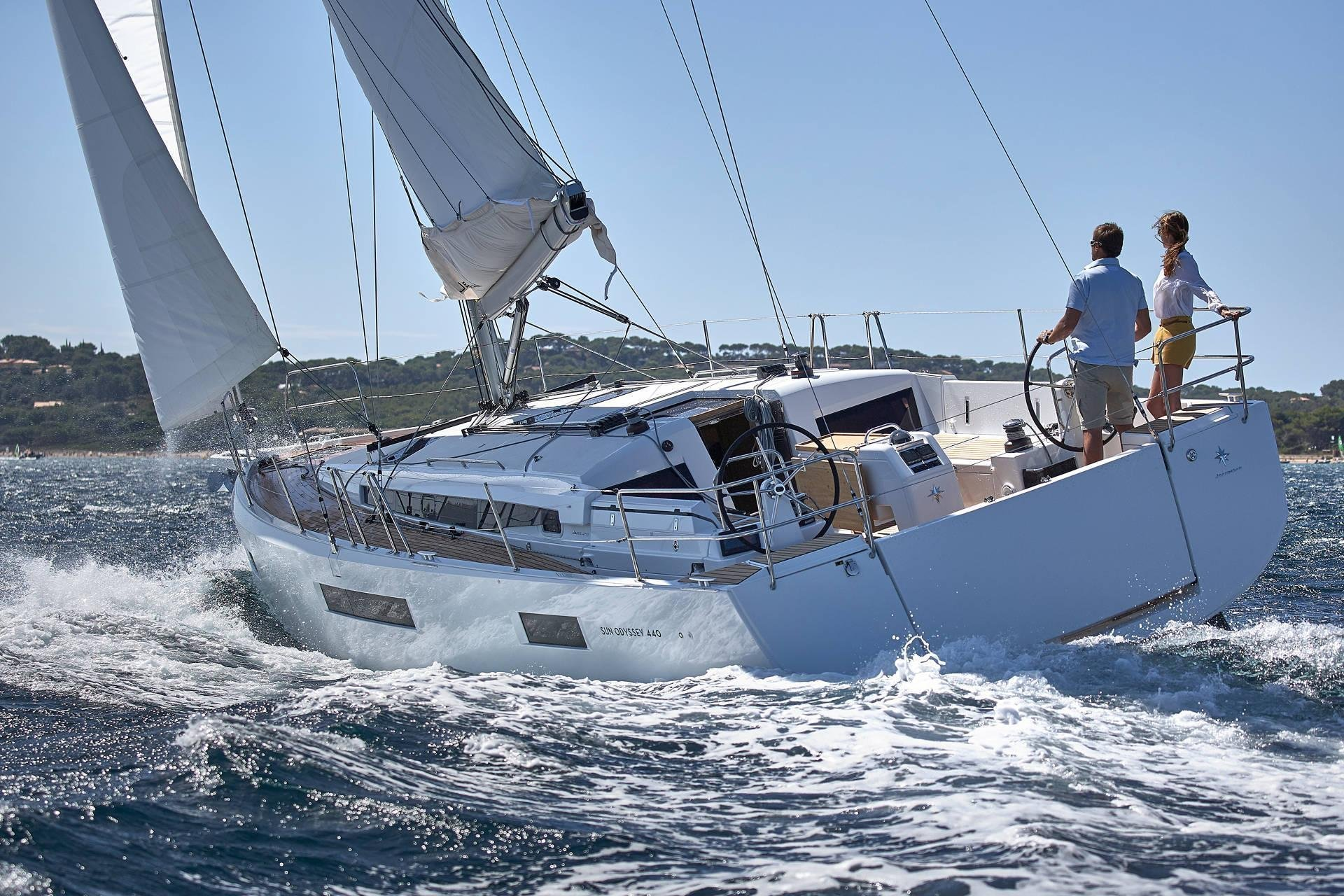 Sun Odyssey 440 (Celtic Breeze) Sailing - 10