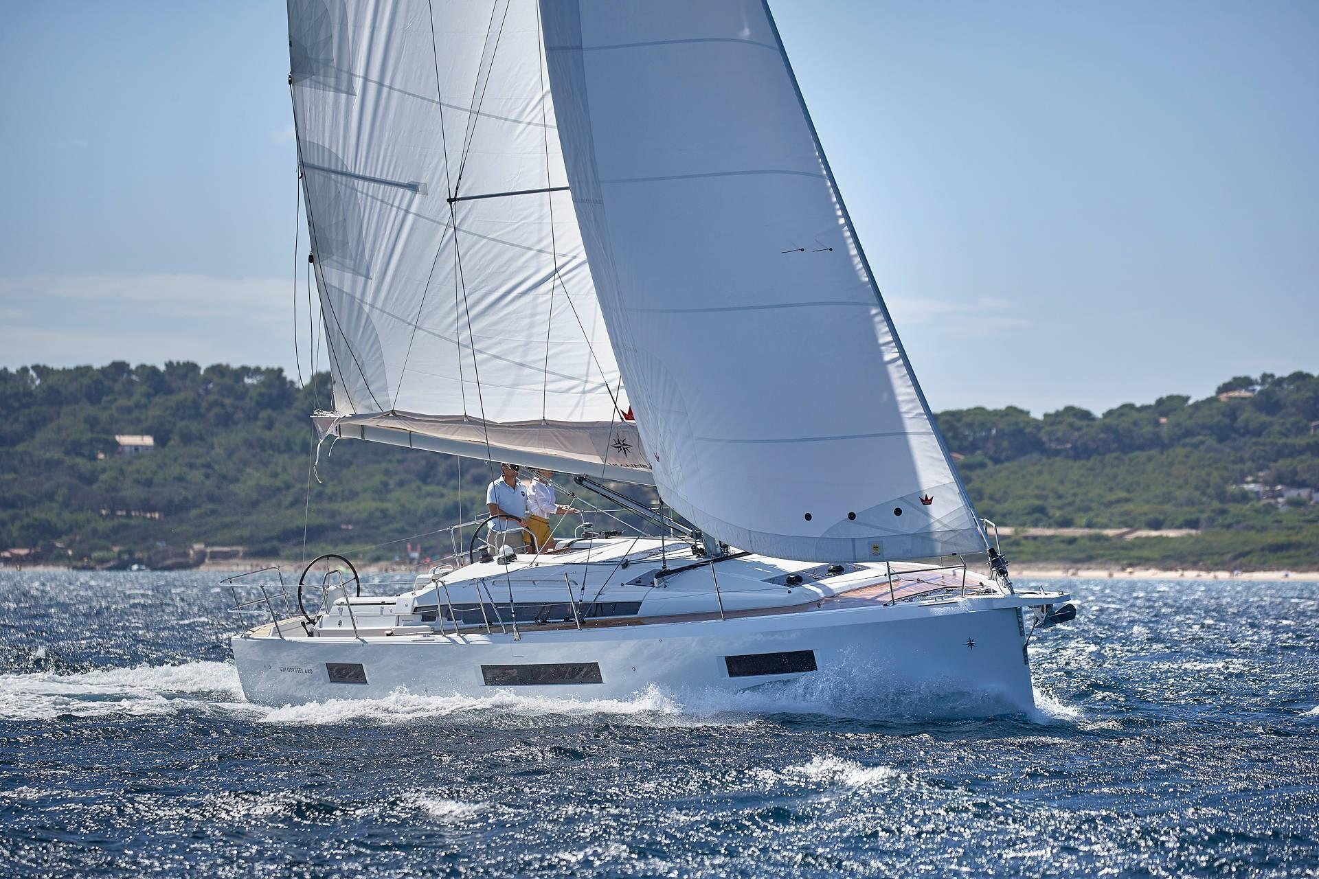 Sun Odyssey 440 (Celtic Breeze) Sailing - 17