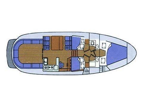 Adria 1002 (Paulina) Plan image - 2