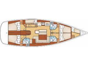 Oceanis 50 Family (Seladon ii) Plan image - 1