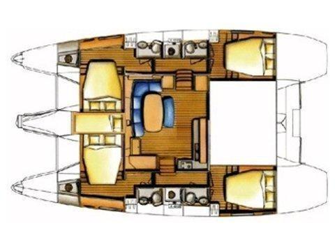 Lagoon 420 (Igris) Plan image - 9