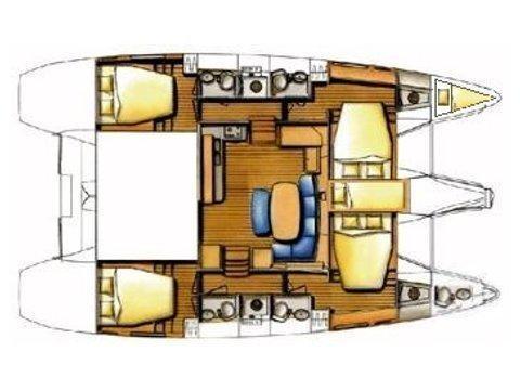 Lagoon 420 (Mediterraneo) Plan image - 42
