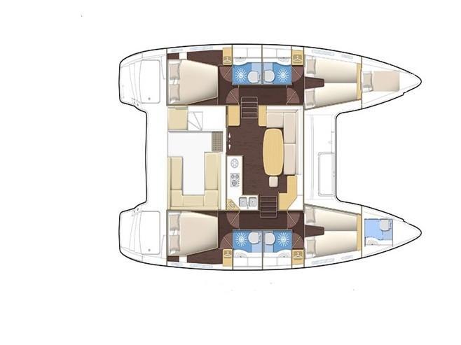 Lagoon 400 (MH 32) Plan image - 2