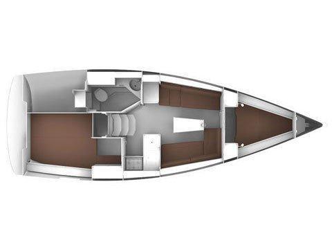 Bavaria Cruiser 33 (HOMEOFFICE) Plan image - 2