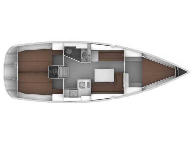 Bavaria Cruiser 36 (OFFICE) Plan image - 2