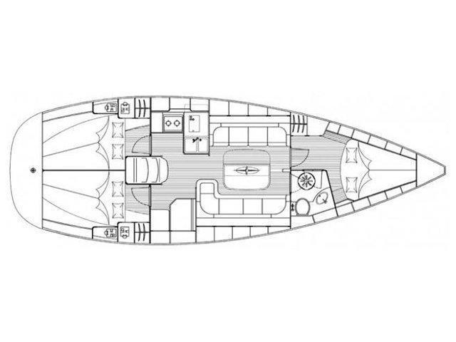 Bavaria Cruiser 37 (KALISPERA) Plan image - 10
