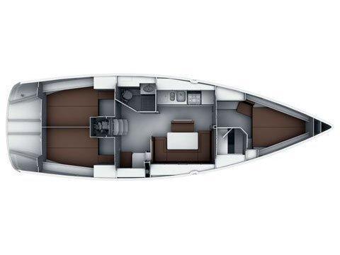 Bavaria Cruiser 40S (SILVER ARROW) Plan image - 10