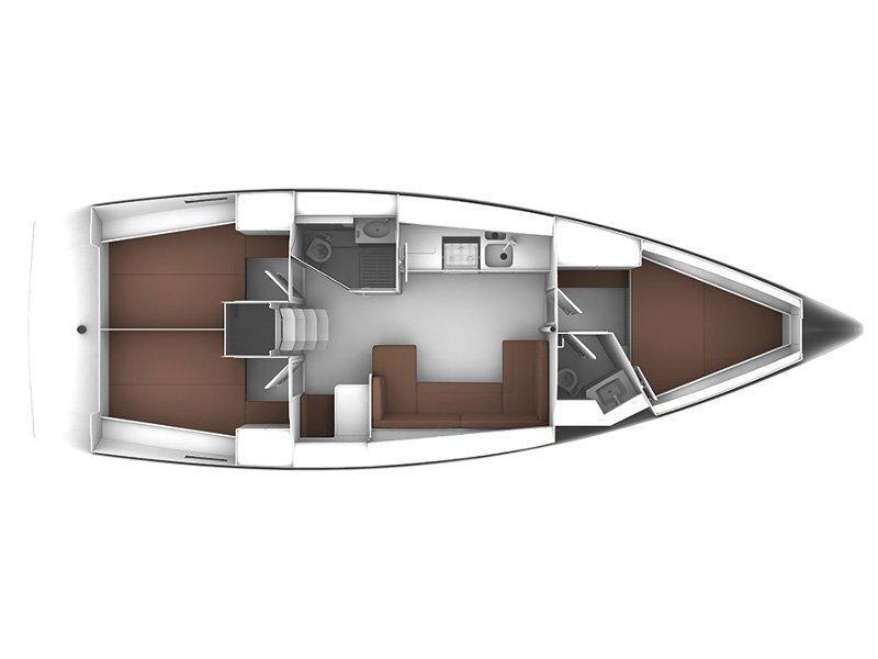 Bavaria Cruiser 41 (STAR LILLI) Plan image - 14