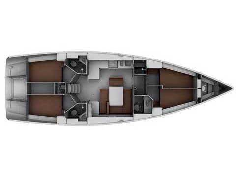 Bavaria Cruiser 45 (GOOD LIFE) Plan image - 3