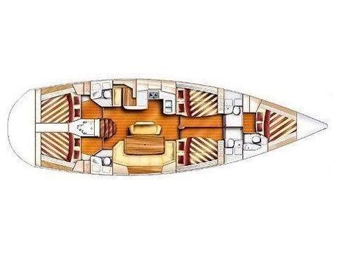 Dufour Gib Sea 51 (STRAWBERRY III) Plan image - 5