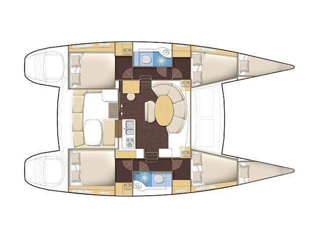 Lagoon 380 (NOA) Plan image - 9