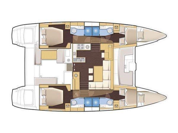 Lagoon 450 (MARK V) Plan image - 11