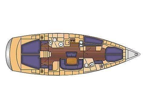 Bavaria 46 Cruiser (Praslin) Plan image - 3