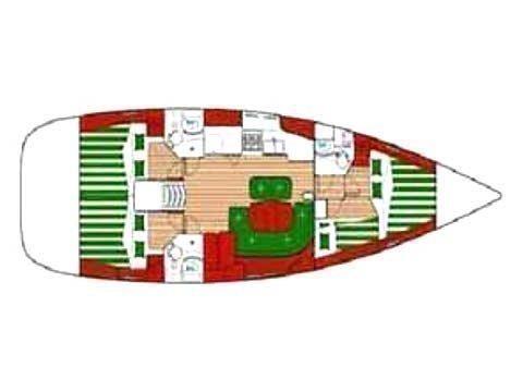 Oceanis 473 (Potatos) Plan image - 1