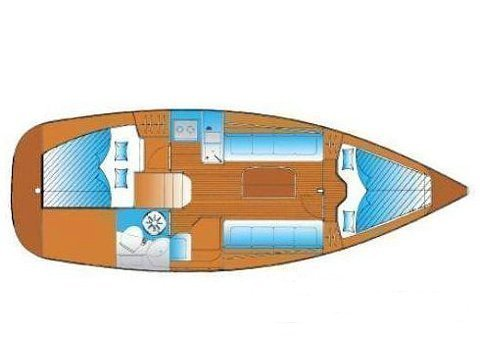 Bavaria 30 Cruiser (Guantanamera) Plan image - 1