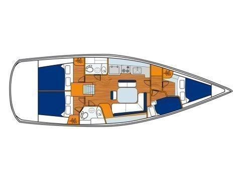 Oceanis 43 (Playmaker) Plan image - 15