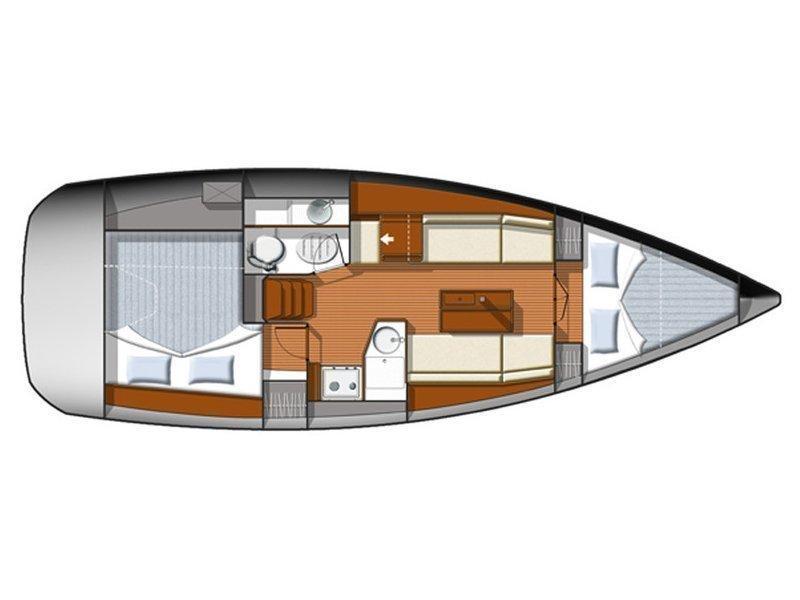 Sun Odyssey 33i (Chiquita) Plan image - 6