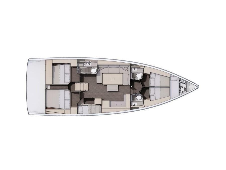 Dufour 470 (Weasley) Plan image - 2